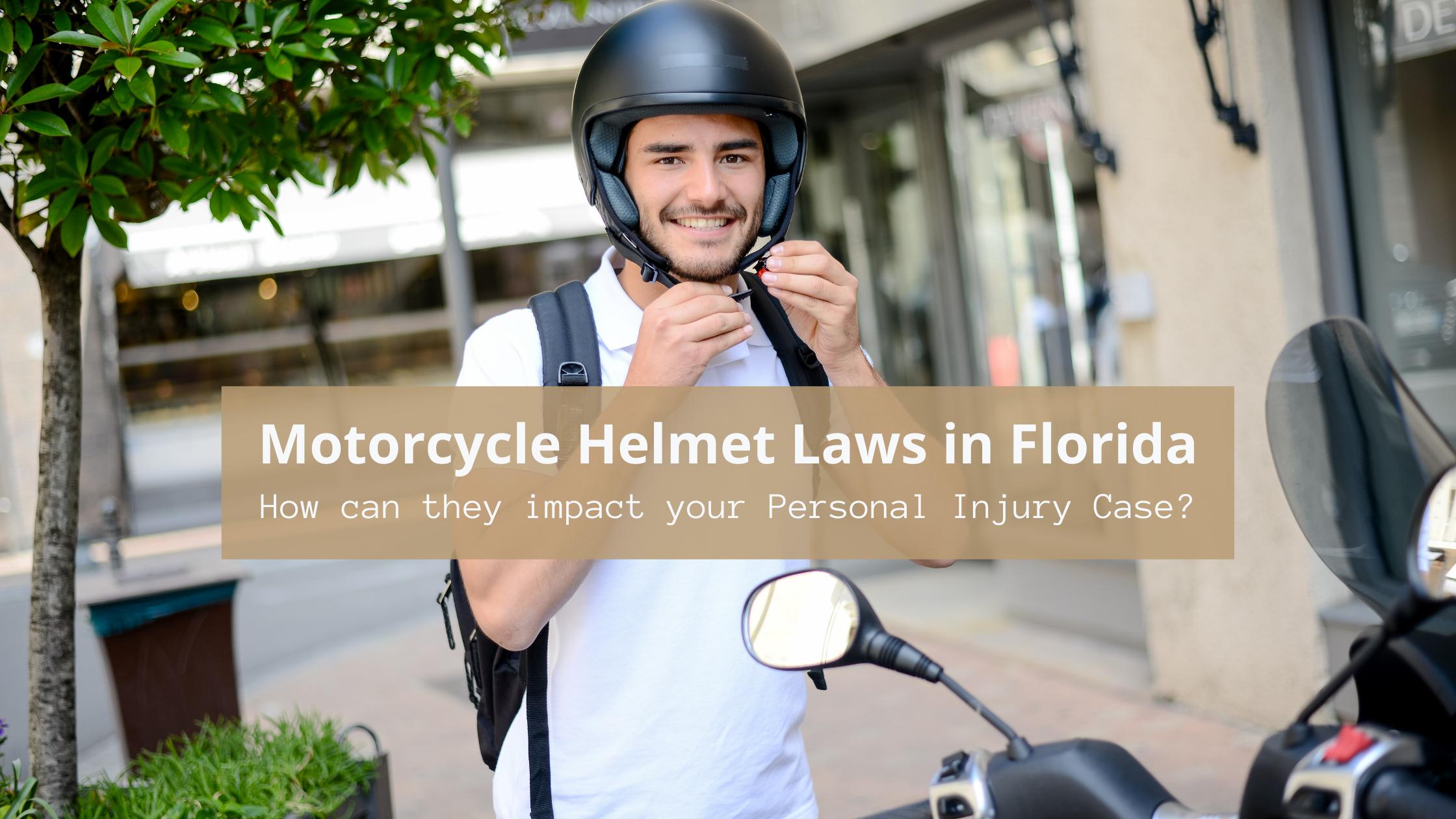 Motorcycle Helmet Laws in Florida